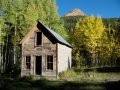 Homestead in Ironton ghost town, Ouray, Silverton
