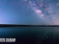 Milky Way over Ramah Reservoir