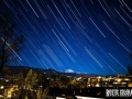 Star Trails over Pikes Peak